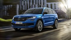 Škoda has published Kodiaqu RS, the most powerful diesel engine in its history