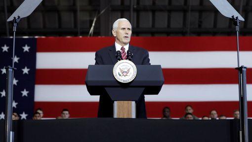 Viceprezident Mike Pence