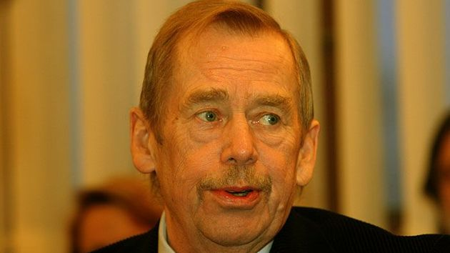 Late-blooming film star (Václav Havel)