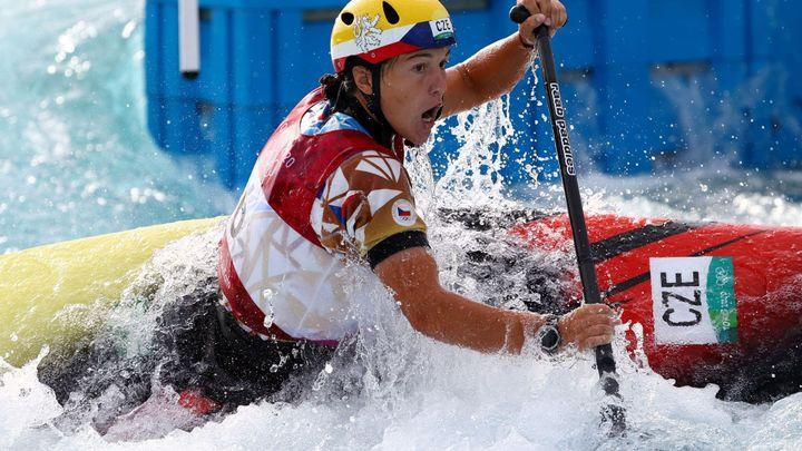 Fišerová v Pau vyhrála Světový pohár kanoistek, Přindiš ovládl extrémní slalom; Zdroj foto: Reuters