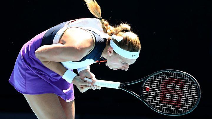 Kvitová zvládla třísetovou bitvu s Kontaveitovou a je v semifinále turnaje v Dauhá