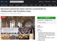 Hledá se komparz na Pražský hrad, výdělek 100 korun na hodinu. Internet se baví kauzou Brady
