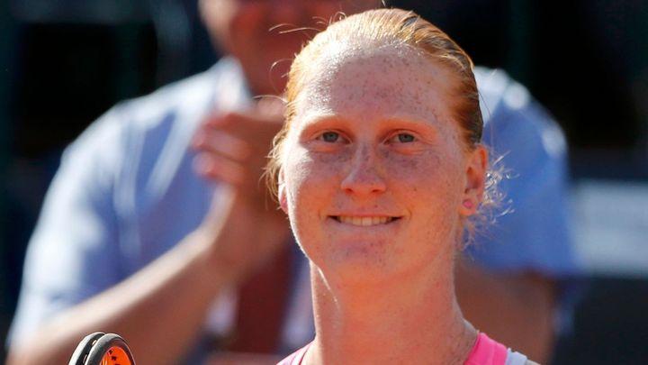 Van Uytvancková slaví v Budapešti druhý titul, ve finále přehrála Cibulkovou