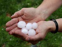 Západ Čech zasáhly bouřky, padaly dvoucentimetrové kroupy