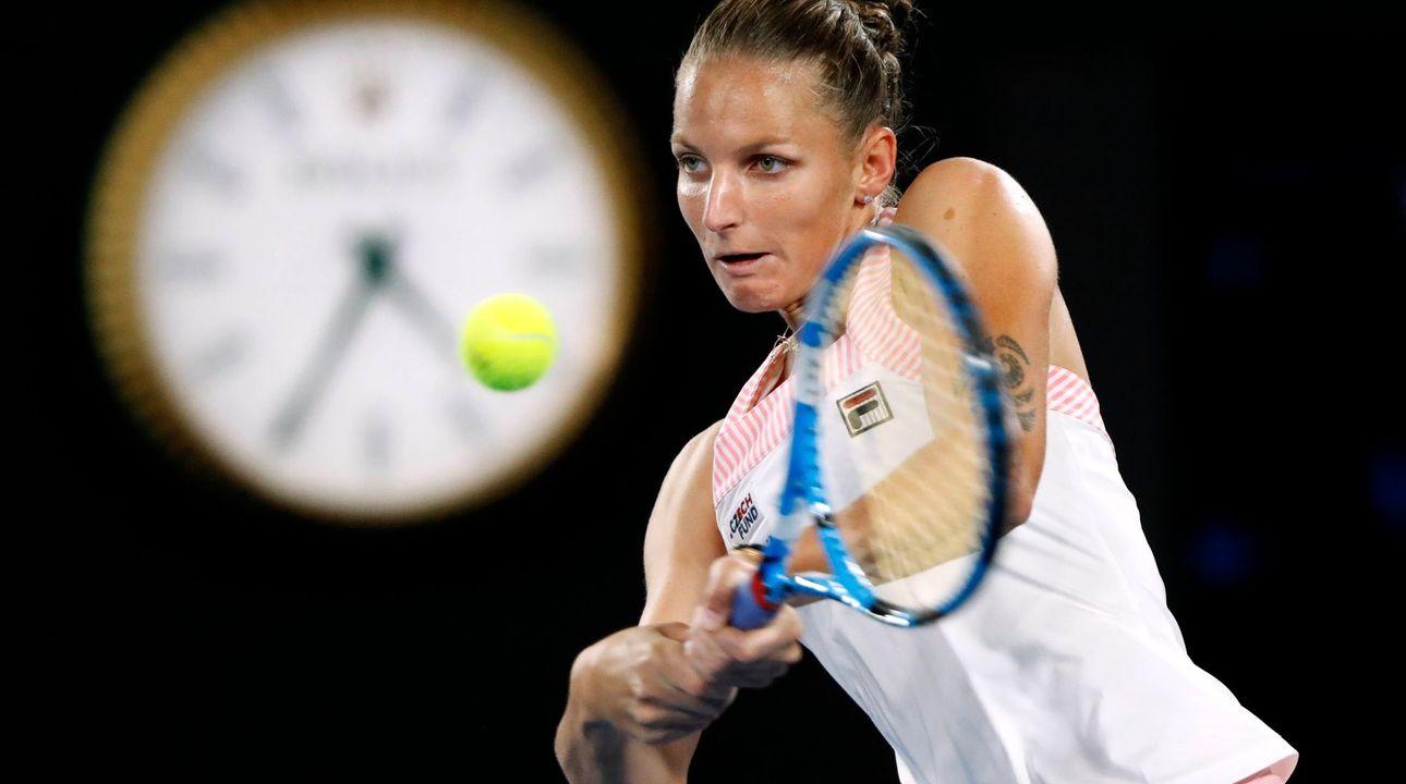 Živě: Plíšková - Ósakaová 2:6, 4:3. Česká tenistka se díky servisu drží ve hře