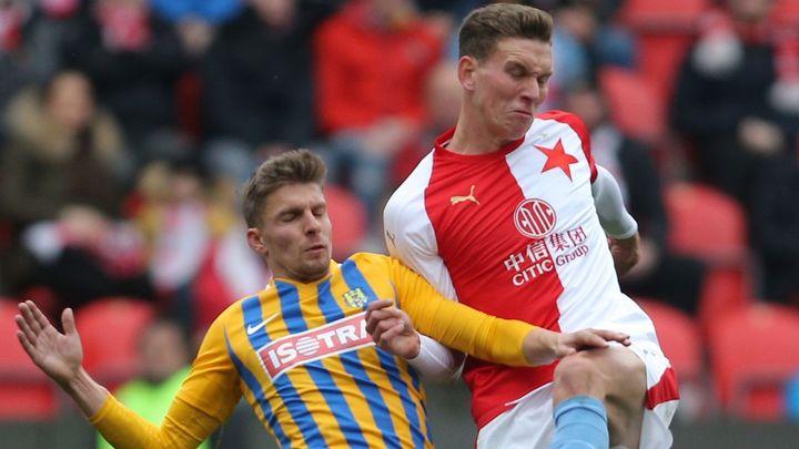 Opava - Slavia 0:6. Lídr soutěže deklasoval slezského soupeře a dál dominuje