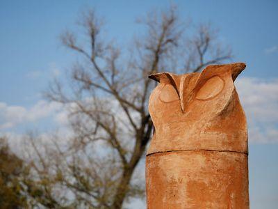 To není sova, ale penis. Obyvatele srbského města pohoršila nová socha