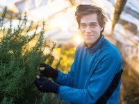 Pronajal si skleník v Horních Počernicích, teď dodává bylinky pro ty nejlepší české restaurace