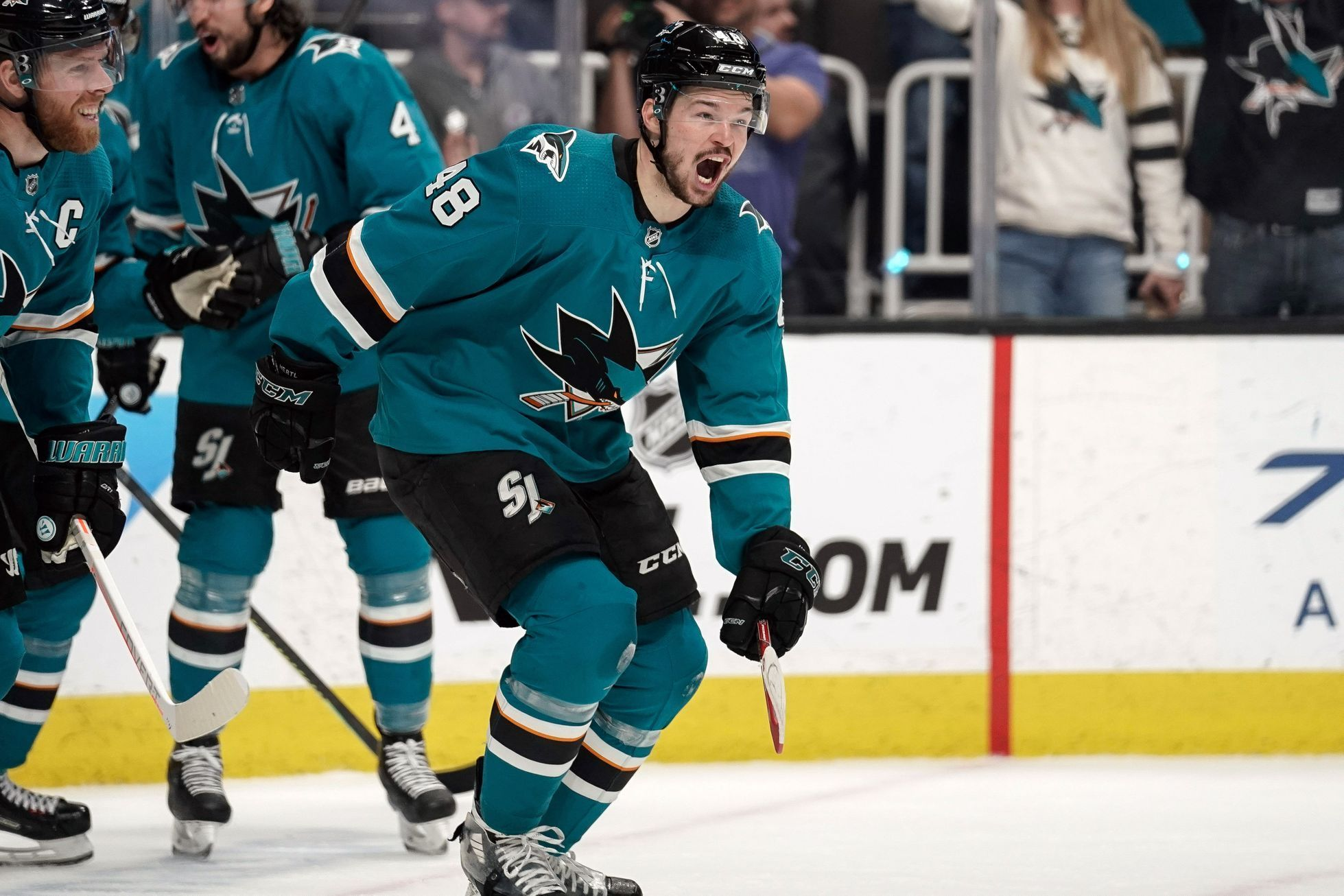 Tomáš Hertl v play off NHL 2019
