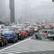 V Praze byla kvůli prachu vyhlášena smogová situace. Řidiči by měli dát přednost hromadné dopravě