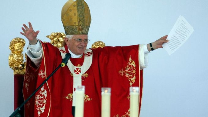 Pope Benedict XVI paid a three-day visit to the Czech Republic