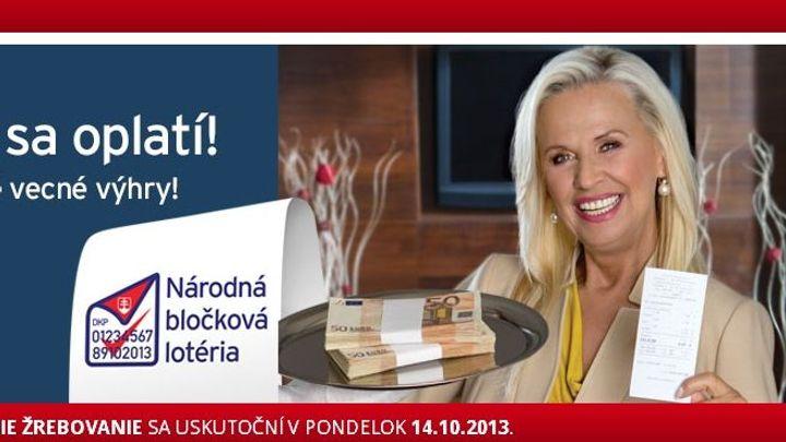 Zájem o účtenkovou loterii na Slovensku výrazně klesl