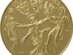 ČNB vydala zlatou minci v hodnotě 10 000 korun k připomenutí výročí úmrtí kněžny Ludmily.