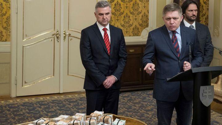 Slovenský policejní prezident Gašpar rezignuje. Dohodl se na tom s premiérem Pellegrinim
