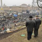 Exkluzivně: Vztek a pláč v Kyjevě. Těžké časy nekončí