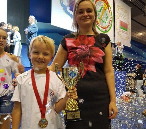 Jiří Bouška se právě v Minsku stal mistrem světa v rapid šachu (srpen 2019).