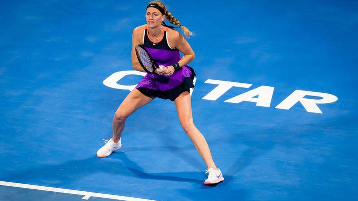 Kvitová - Teichmannová. Šampionku z Dauhá čeká na úvod turnaje švýcarská soupeřka
