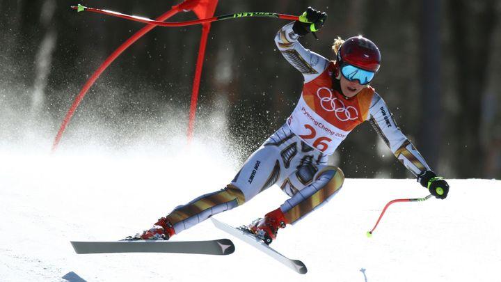 Tryskáč ve vzduchu i na lyžích. Tým Ledecké před velkým finále raději tlumí vášně