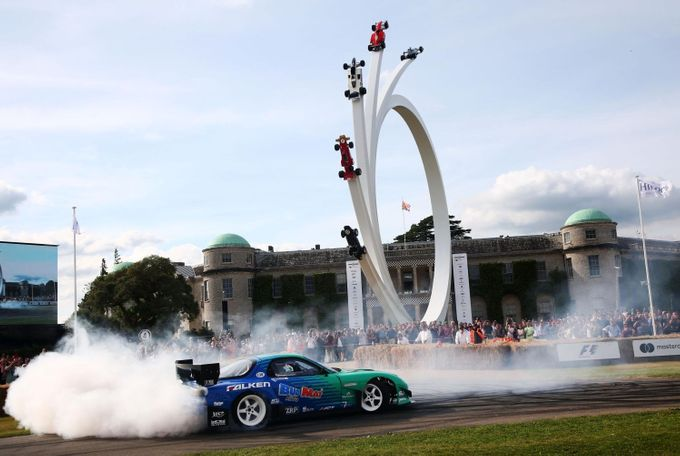 Goodwood Festival of Speed 2017: Mazda drif
