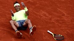 Rafael Nadal ve finále French Open 2019
