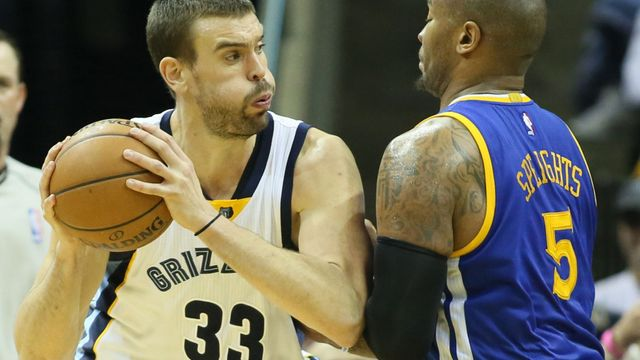 Marc Gasol a Mareese Spaights