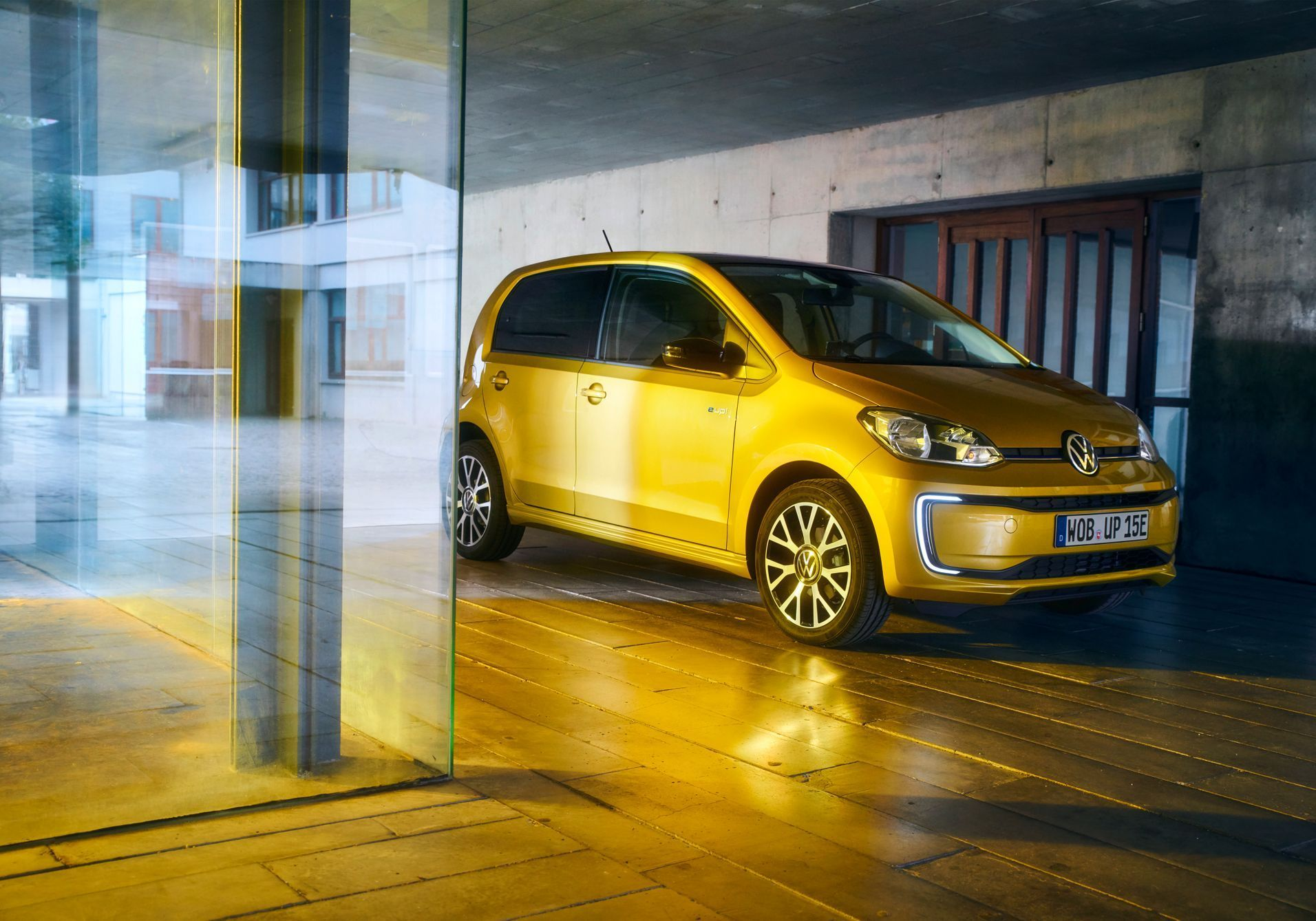 Volkswagen e-up! facelift