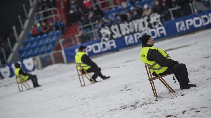 Kvůli silným mrazům se ruší další zápas. Odloženo bylo i utkání Boleslavi s Baníkem