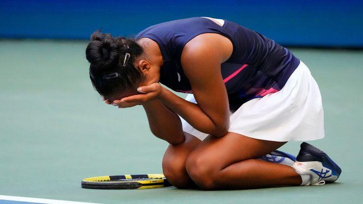 Devatenáctiletá kanadská senzace je už v semifinále US Open, vyřadila i Svitolinovou; Zdroj foto: Reuters