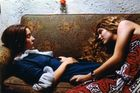 William Eggleston  Untitled (Two Girls, Memphis, TN), 1974  Dye-transfer print 52.1 x 76.2 cm. © Eggleston Artistic Trust Courtesy the artist and Cheim & Read, New York