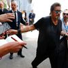 "Cast member Al Pacino arrives to attend the photo call for the movie ""The Humbling"" at the 71st Venice Film Festival"
