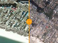Podívejte se, jak hurikán zpustošil USA. Rozsah katastrofy odhalily satelitní snímky