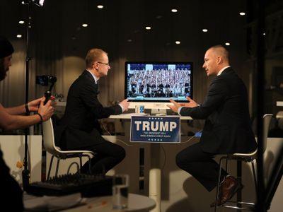 Trump je nepřipravený, jeho program vágní, řekl historik Lukeš v živém přenosu DVTV a Aktuálně.cz