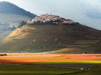 Dva roky po ničivém zemětřesení: malebné Castellucio leží v troskách, kolem vše kvete
