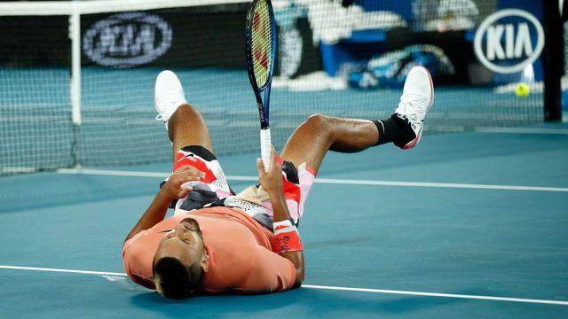 Slzy pro Kobeho, pak tenis z jiné planety. Nadal s Kyrgiosem nadchli Melbourne