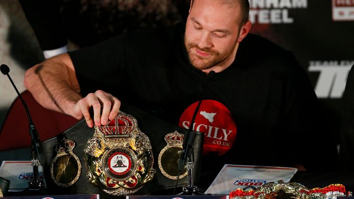 Fury v prosinci vyzve Wildera o boxerský pás WBC