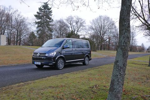 Volkswagen Multivan Bulli edition 2018 test