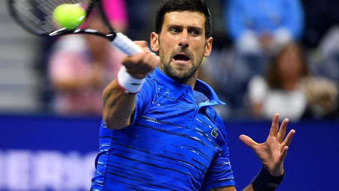 Novak Djokovič na US Open.