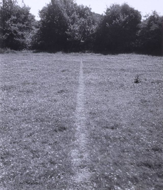 Richard Long: A Line Made by Walking, 1967