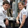 Toto Wolff a Susie Wolffová