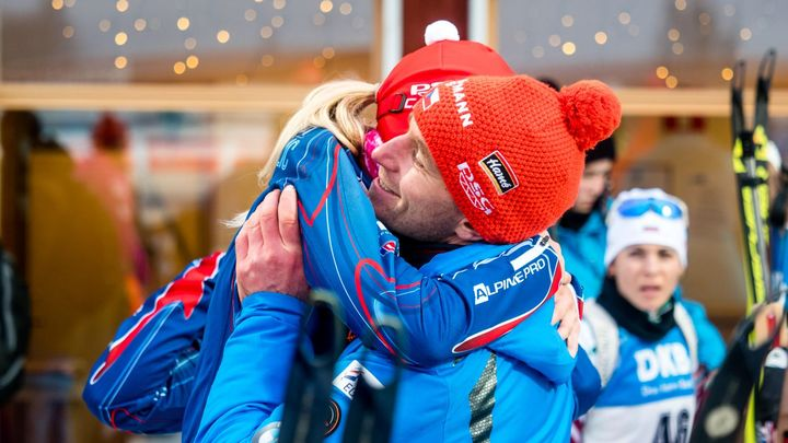 Nervozita je definitivně pryč, Koukalová vyhrála první pohárový závod pod novým jménem