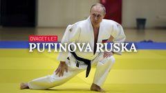 grafika - 20 let Putinova Ruska