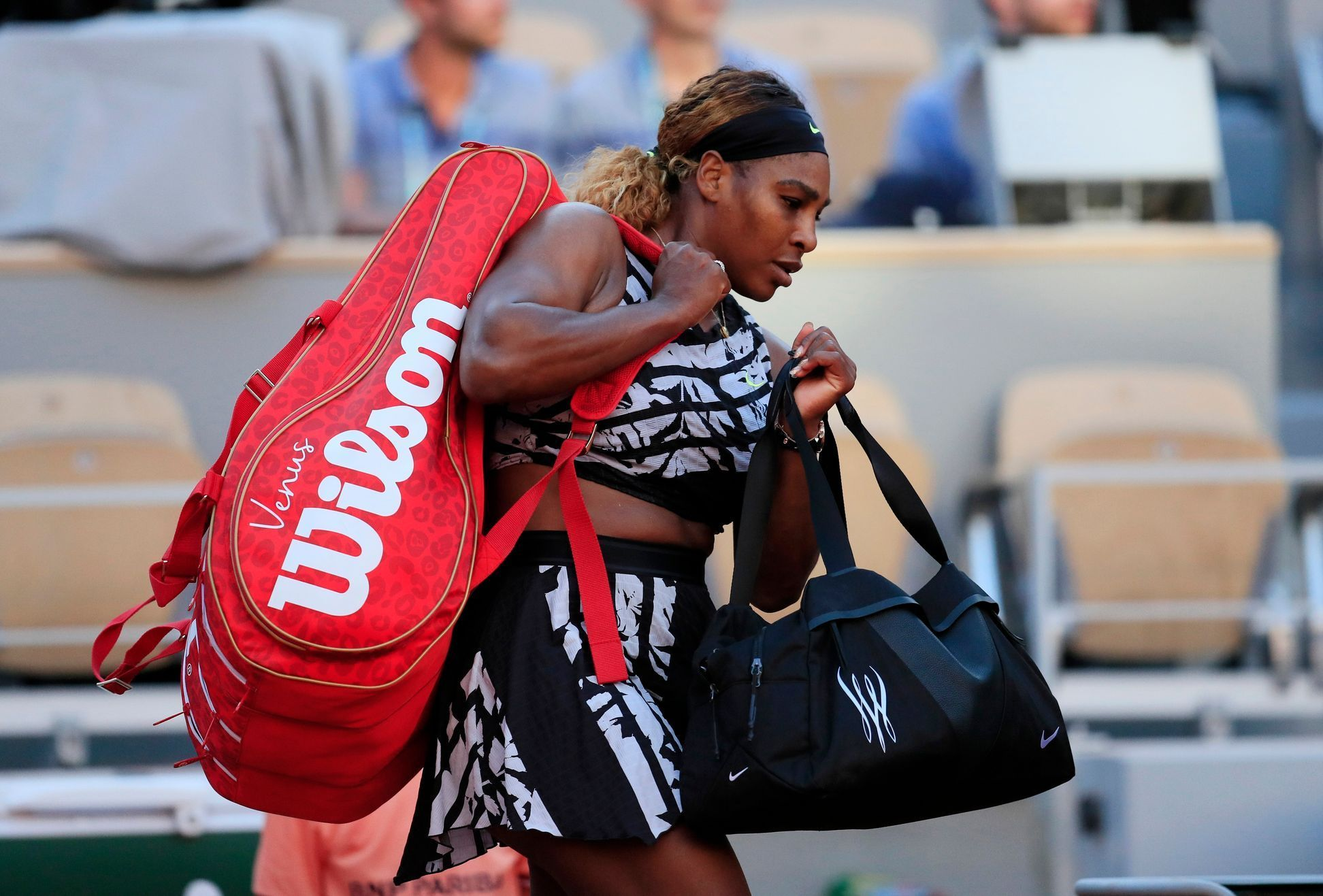Serena Williamsová na French Open 2019