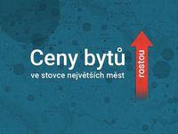 Cenová mapa bytů v Česku: Projděte si, jak zdražily ve 100 největších městech