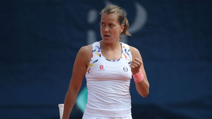 Barbora Strýcová na Prague Open 2019