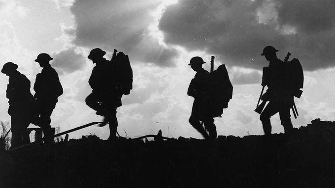 Rande s mužem v britské armádě