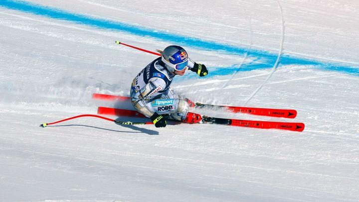 Ledecká je v polovině kombinace čtvrtá. Odpoledne ji čeká ledový slalom