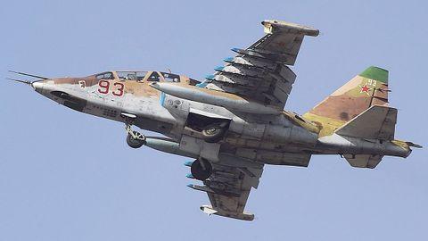 Na jihu Ruska se při cvičení zřítil bitevní letoun, pilot zemřel