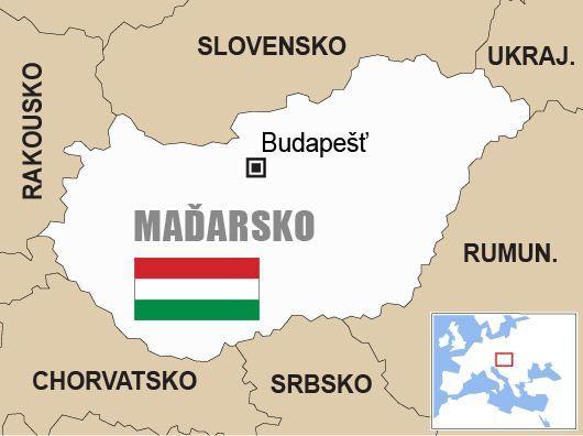 Výsledek obrázku pro madarsko mapa