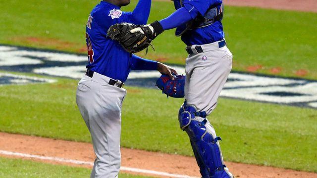 Baseballisté Chicaga vyhráli v Clevelandu a srovnali stav finále MLB na 1 1 ee2f39d8b8