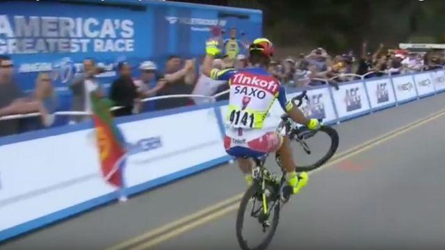 8a8bfee25a0 Cyklistický král Sagan. Podívejte se na kouzelnické kousky na kole ...